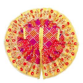 Heavy Designer Zari Work Poshak For Laddu Gopal / Beautiful Poshak For Thakur Ji (5 No)