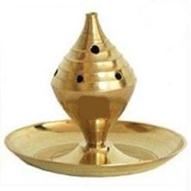 Brass Agarbatti Stand / Golden Incense Stick Holder
