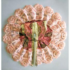 Laddu Gopal Summer Cotton Poshak Beautiful Lace ( 2 No)