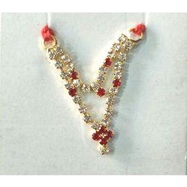 Designer Diamond Work Haar For Laddu Gopal / Haar Shringar For Thakurji - 2 Pcs
