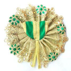 Beautiful Full Heavy Work Poshak / Golden Lace Border Poshak For Bal Gopal (1 No)