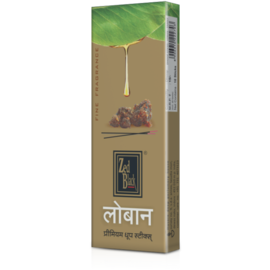 Zed Black Loban Premium Dhoop Sticks - 1 Box