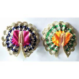 Beautiful Woolen Poshak For Bal Gopal / Designer Poshak For Laddu Gopal - 2 Pcs