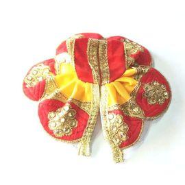 Poshak For Laddu Gopal / Kundan Work Poshak For Thakurji