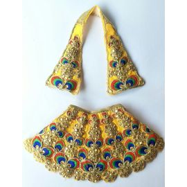 Heavy Kundan And Thread Work Lehanga For Matarani / Designer Devi Haar (5 No)