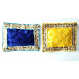 Designer Woolen Aasan For Laddu Gopal / Gaddi For Bal Gopal - 2 Pcs