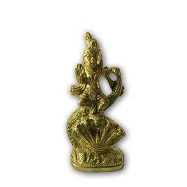 Kanha Statue / Brass Krishna Murti / Pooja Murti / Kanha Standing On Naag