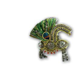Elegent Zari Work Mukut For Laddu Gopal Shringar / Designer Zari Work Mukut For Bal Gopal (2 No)