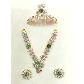 Designer Set Of Bal Gopal Shringar / Jewellery Set Of Thakurji