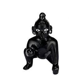 Black Laddu Gopal / Designer Bal Gopal / Thakurji Statue
