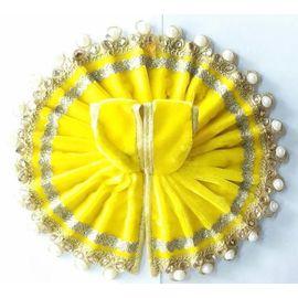 Beautiful Woolen Poshak With Moti Lace For Bal Gopal Shringar / Designer Poshak For Laddu Gopal (4 No)