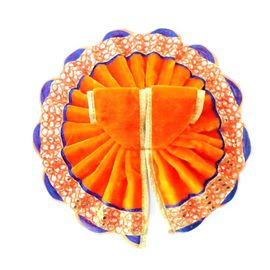 Elegent Woolen Velvet Poshak For Laddu Gopal / Winter Dress For Thakur JI (4 No)