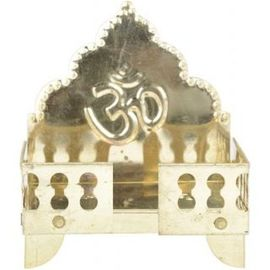Om Symbol Brass Singhasan / Pooja Asan / Brass Singhasan