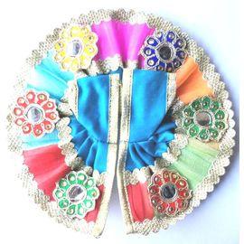 Kanch Work Poshak For Laddu Gopal / Designer Poshak For Bal Gopal (2 No)