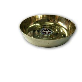 Designer Brass Bhog Plate For God / Brass Plate / Pooja Plate