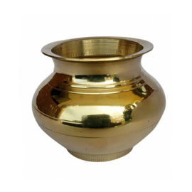 Pure Brass Lota/Kalash For Pooja - 2 Pcs