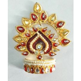 Designer Mukut For Laddu Gopal / Mukut Shringar For Thakurji / Mukut For Bal Gopal