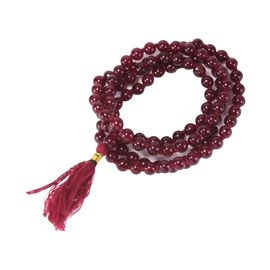 Original Red Hakik Mala Red Agate (Hakik) Mala