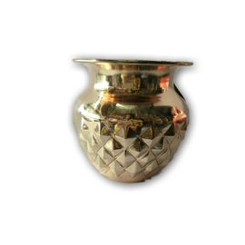 Daimond Cutting Kalash / Copper Lota / Pooja Kalash