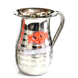S P Gold Water Jug / Stainless Steel Jug / Pooja Jug