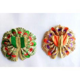 Embroidered Poshak Bal Gopal Poshak Colorful ( 0 No. ) - 2 Pcs