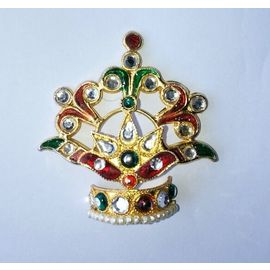 Beautiful Mukut For Laddu Gopal Shringar / Mukut For Bal Gopal / Mukut For Thakurji