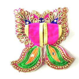 Butterfly Design Laddu Gopal Poshak / Bal Gopal Designer Dress