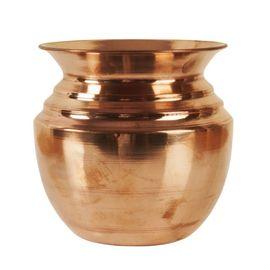 Handmade Copper Kalash / Pure Copper Puja Kalash/Lota