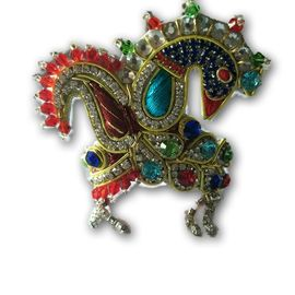 Peacock Zari Work Design Mukut For Laddu Gopal Shringar / Designer Zari Work Mukut (0 No)