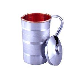 Saga Steel Copper Water Jug / Pooja Jug
