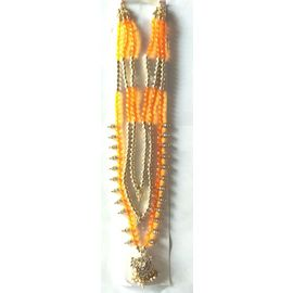 Colourfull Moti Work Neckless / God Haar / Goddess Shringar / Devi Haar