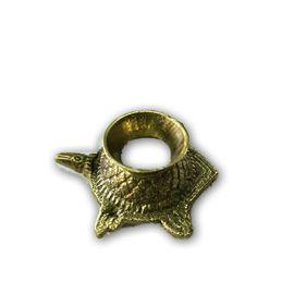 Brass Kashyap Shankh Stand / Designer Shankh Stand