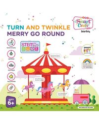 Smartivity Turn and Twinkle Merry Go Round S. T. E. M. Educational DIY Toy