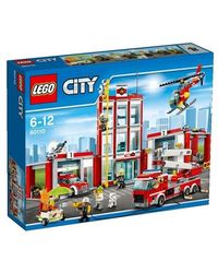 Lego Fire Station, Multi Color
