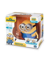 Despicable Me 2 Minions Bob Interacts With Teddy Bear