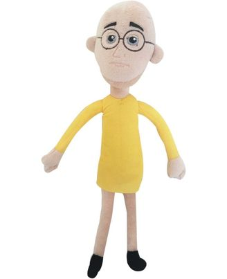 Viacom Patlu Plush, Multi Color
