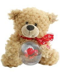 Archies Soft Toy Musical Bear, Multi Color (25cm)