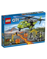 Lego Volcano Supply Helicopter, Multi Color
