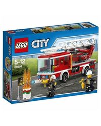 Lego Fire Ladder Truck, Multi Color