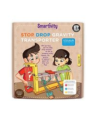 Smartivity Stop Drop Gravity Transporter S. T. E. M. Educational D. I. Y. Toy