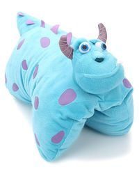 Disney Sullivan Folding Plush, Blue
