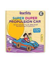 Smartivity Super Duper Propulsion Car STEM Educational DIY Toy
