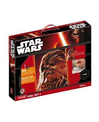 Quercetti Pixel Art 4 - Star Wars Chewbacca, Multi Color