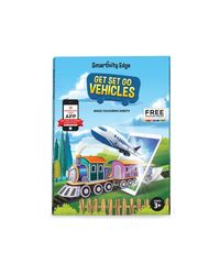 Smartivity EDGE Get Set Go Vehicles Augmented Reality Colouring Sheets