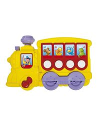 Simba ABC Musical Locomotive, Multi Color