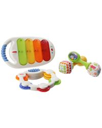 Fisher Price Musical 3 Pack Combo, Multi Color