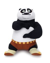 Dreamworks Kung Fu Panda Standing Plush, Multi Color (25-cm)