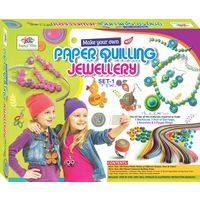 Art & Craft Toys Paper Quilling Jewellery Toys- SET 1