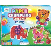 Art & Craft Toys Paper Crumpling Craft kit - Cutties