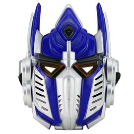Optimus Prime Transformer LED Lights Mask Superhero Face Cosplay Party